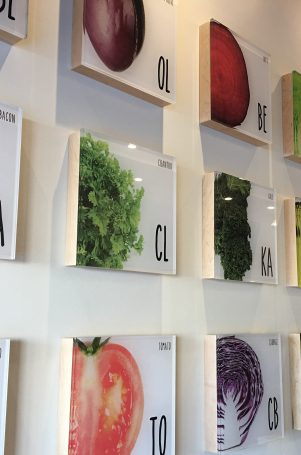 freshii wall decor