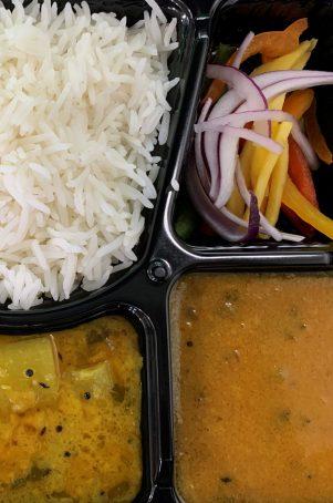 veggie thali food